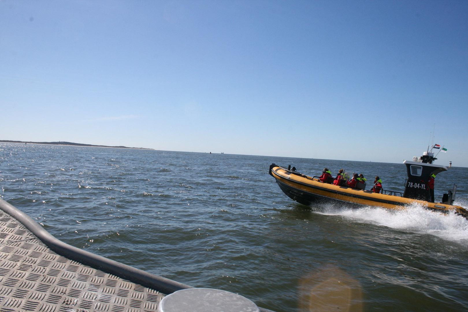 Foto vanaf de Northern Diver